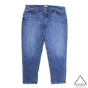 Eileen Fisher Stretch Crop Jeans Organic Cotton